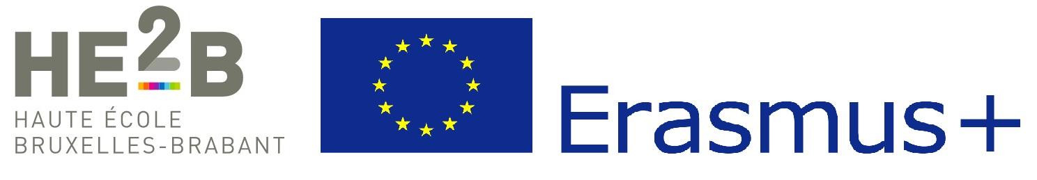 logo HE2B Erasmus +